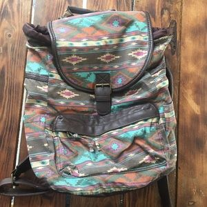 Mossimo Geometric Print Backpack